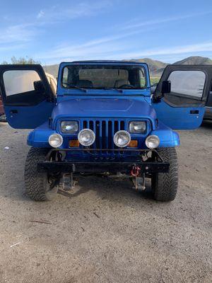 1990 Jeep Wrangler for Sale in Hemet, CA