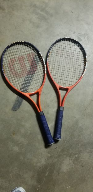 Tennis rackets for Sale in Lancaster, CA