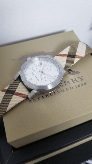 BURBERRY men's watch BRAND NEW 100% AUTHENTIC for Sale in Bellevue, WA