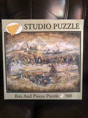 The Last Supper Studio Bits and Pieces 500 pc Jigsaw Puzzle Ruane Manning for Sale in Hayward, CA