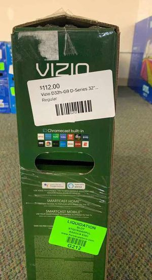"New Vizio 32"" inch D-Series TV! W/ Warranty open box QF 3P for Sale in Houston, TX"