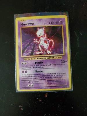 Mewtwo halo pokemon for Sale in Guadalupe, AZ