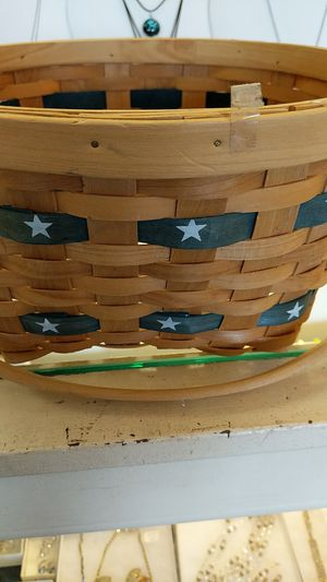 STAR WICKER BASKET 4th for Sale in Leesburg, VA