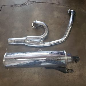 Yamaha Road Star Warrior exhaust for Sale in San Diego, CA