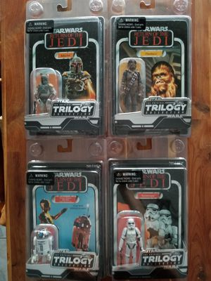 Hasbro Star Wars Trilogy collection action figers for Sale in Las Vegas, NV