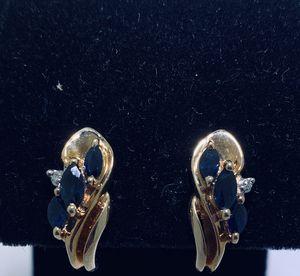 Ladies gold stud earrings #970 for Sale in AZ, US