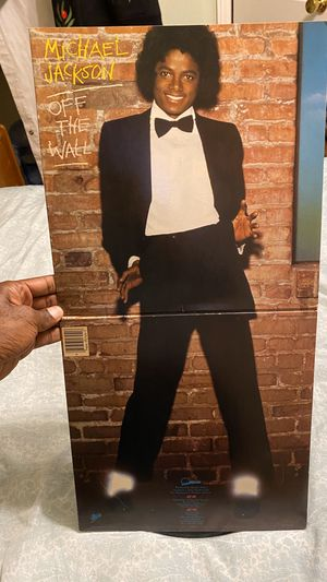 Michael Jackson Off The Wall 1979 Epics Recording for Sale in Belleair, FL