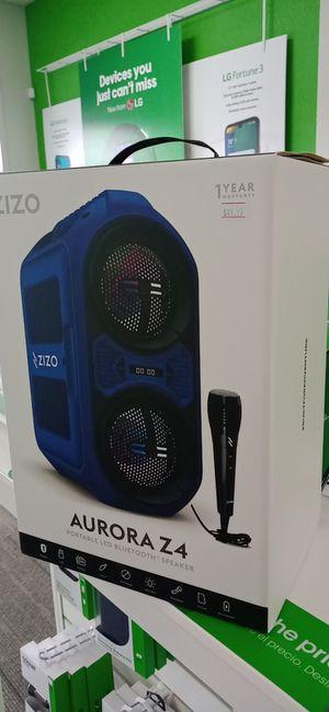 Zizo Aurora Z4 Bluetooth speaker for Sale in Abilene, TX