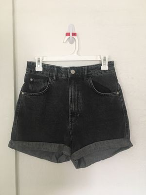 Women's Size 4 High-waisted Black Jean Shorts for Sale in Boulder, CO