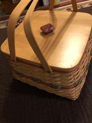 Longaberger baskets for Sale in Rancho Cordova, CA