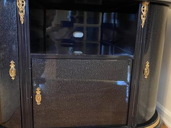 Navy And Gold Buffet Cabinet for Sale in New Milford,  NJ
