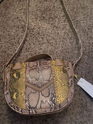 snakeskin print bag for Sale in Phoenix, AZ