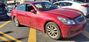 INFINITI G35 2007 AWD ONLY FOR PARTS for Sale in The Bronx, NY