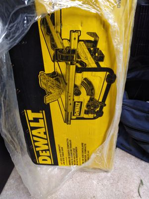 Brand new in box never used dewalt table saw for Sale in Sacramento, CA