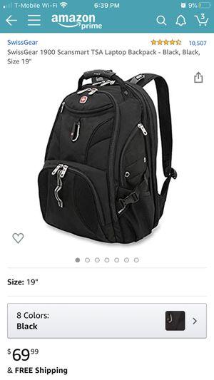Swiss Gear Laptop BackPack for Sale in Manteca, CA