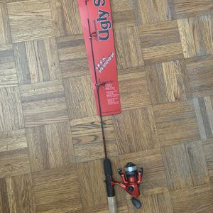 New Fishing Pole With Rod - Ugly Stik_Shakespeare for Sale in Palo Alto, CA