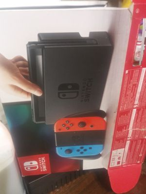 Nintendo switch with games and accessoroes for Sale in Ottumwa, IA