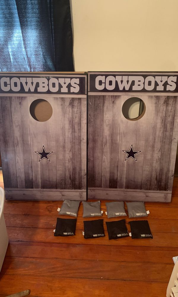 Dallas Cowboys Corn Hole boards