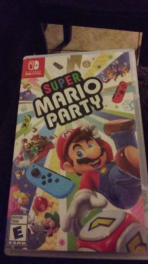 Nintendo switch super mario party for Sale in Phoenix, AZ