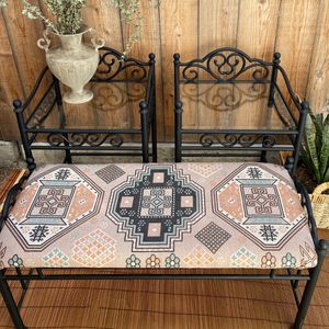 Boho iron 3 piece furniture set: Bench, 2 End Tables for Sale in San Diego, CA