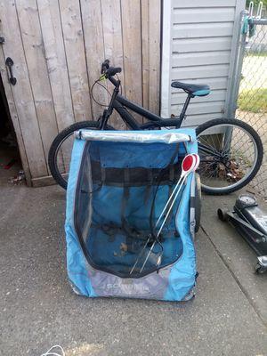Schwinn bike and child's wagon for Sale in Parkersburg, WV