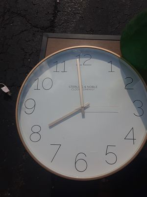 Large wall clock and window mirror! for Sale in Galloway, OH