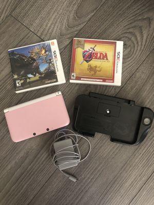 Nintendo 3DS XL Bundle - Zelda Ocarina of Time and Monster Hunter 4 Ultimate for Sale in Los Angeles, CA