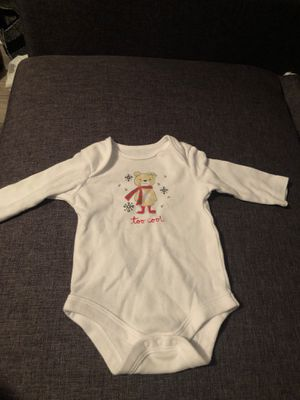 Too Cool Holiday Onesie - 0-3 Months for Sale in Autaugaville, AL