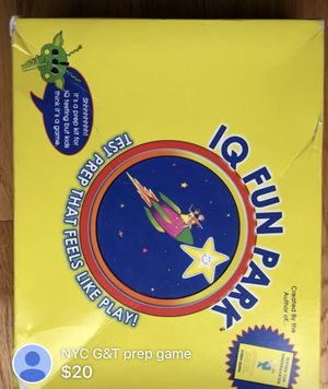 NYC G&T test prep game for Sale in New York, NY