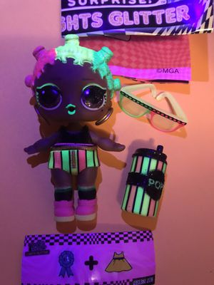 """Lol doll lights glitter series """"Jammin'"""" for Sale in Portland, OR"""