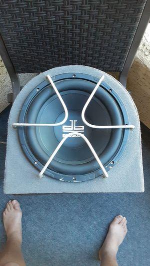 Polk audio 10 inch custom box..used for 2 months for Sale in Mesa, AZ