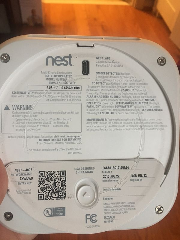 Nest Protect 2nd Generation