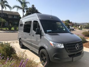 2019 Mercedes Sprinter Van-immaculate! for Sale in La Costa, CA