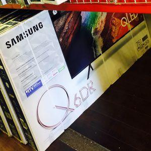 Samsung 75 inch 4K TV QLED Q6 Qn75Q60r for Sale in Burbank, CA