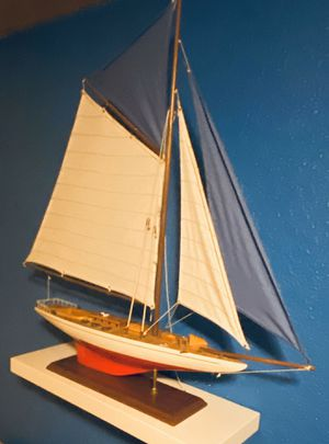 Wooden model sailboat (boat) for Sale in Portland, OR
