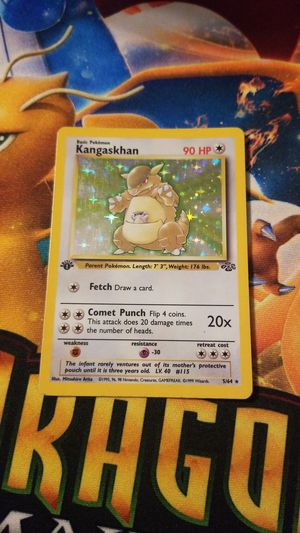 1st edition Holo Kangaskhan pokemon card for Sale in Los Angeles, CA