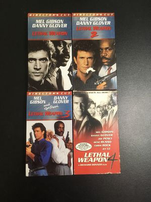 Lethal Weapon VHS set *compete series* for Sale in Berwyn, IL