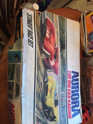 Aurora 132 big car racing 1970s toy collectible for Sale in Roby, MO