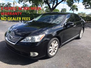 2012 Lexus ES350 for Sale in Boca Raton, FL
