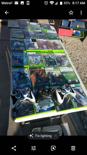 Xbox 360 Games for Sale in Apple Valley, CA