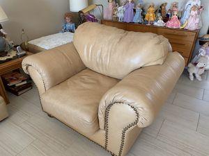 Overstuffed chair / ottoman for Sale in Seattle, WA
