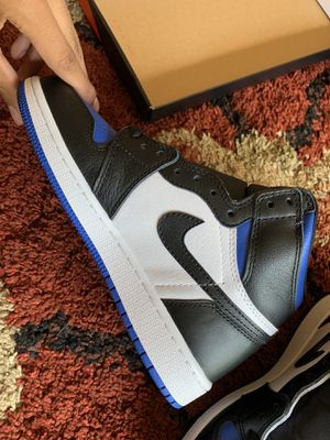 "Air Jordan 1 ""Royal toe"" Brand New, With Box, Size 5.5Y for Sale in Morton Grove, IL"