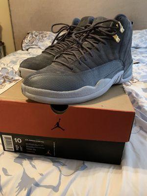 Jordan 12 Grey for Sale in Saint Robert, MO