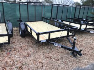 Brand new 5x10 5 x10 utility landscape motorcycle trailer. SALE $1175 for Sale in Northfield, NJ