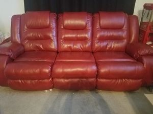 red leather recliner set for Sale in Fresno, CA