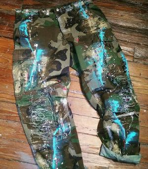 Custom Painted Camo Pants for Sale in Atlanta, GA