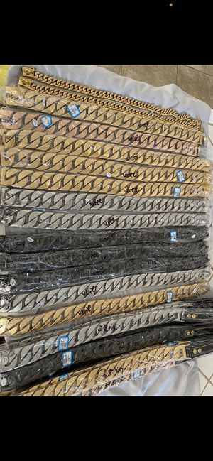 CUBAN DOG CHAINS for Sale in San Francisco, CA