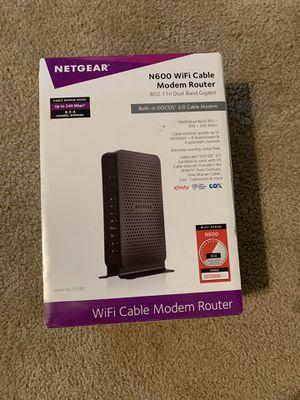 Netgear N600 WiFi Router (c3700) for Sale in Houston, TX
