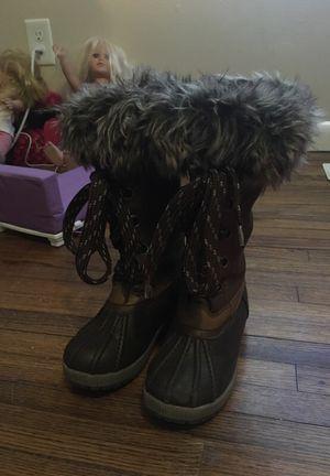 Little Girls size 12 London fog boots for Sale in Broken Arrow, OK