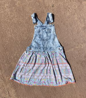 EUC girl's Jordache denim overall dress, size XL 14-16 for Sale in Plantation, FL